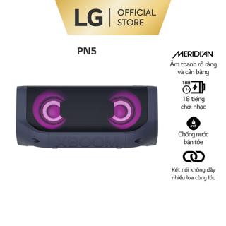 [Mã ELLGJULY giảm 5% đơn 500K] Loa Bluetooth Di Động LG XBOOM Go PN5 - Hàng Chính Hãng - Màu Xanh Đen thumbnail