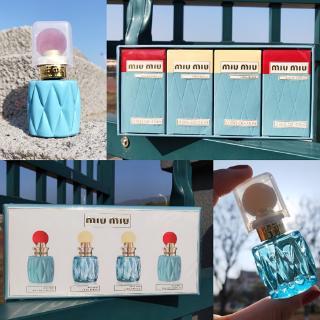 (hàng Mới Về) Bộ 4 Lọ Nước Hoa Miu Miu 4 Trong 1 Cho Nữ 20mlx4 thumbnail