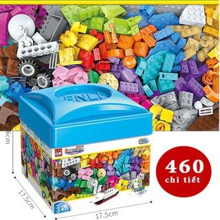 [Mã NOWSHIPT6HAPPY giảm 20k đơn 50k] Bộ Lắp Ghép Cho Bé Lego 460-520 Chi Tiết