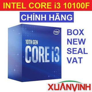 CPU Intel Core i3 10100F 4 Nhân 8 Luồng 3.6GHz New Seal Chính Hãng