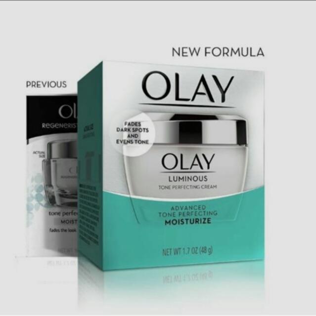 Kem olay trắng sáng điều trị nám và tàn nhang Olay Luminous Tone Perfecting cream 48g