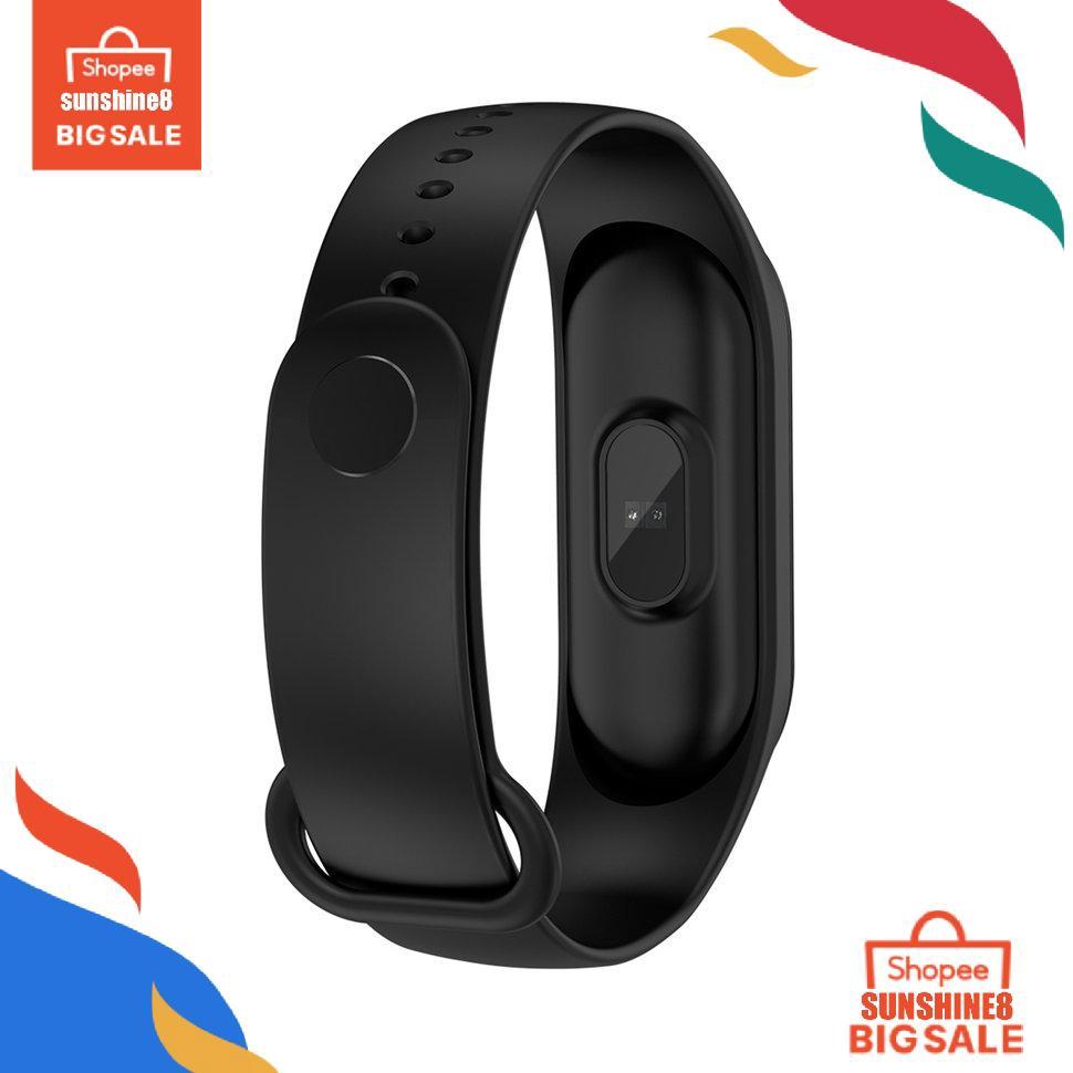 Đồng Hồ Thông Minh Harga Terendahm4 Theo Dõi Sức Khỏe Kết Nối Bluetooth
