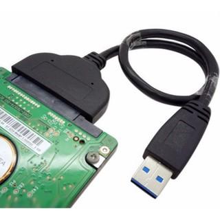 [Mã ELORDER5 giảm 10K đơn 20K] Cáp chuyển Sata to USB 3.0 cho HDD SDD 2.5 inch