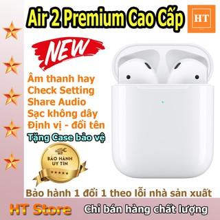 Siêu Phẩm Tai Nghe Bluetooth TWS Air 2 Premium - Check Setting - Đổi Tên - Định Vị
