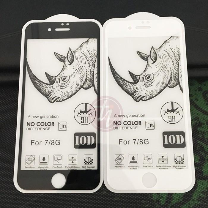 Kính cường lực iPhone FULL MÀN 10D Tê Giác cho iPhone 6 đến iPhone 12 Pro Max
