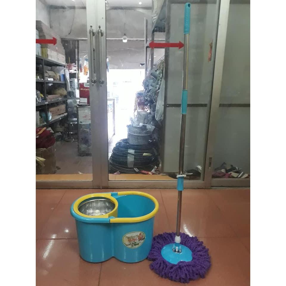Sỉ =lẻ Bộ chổi lau nhà Homeone công nghệ Thái Lan kèm 1 bông lau