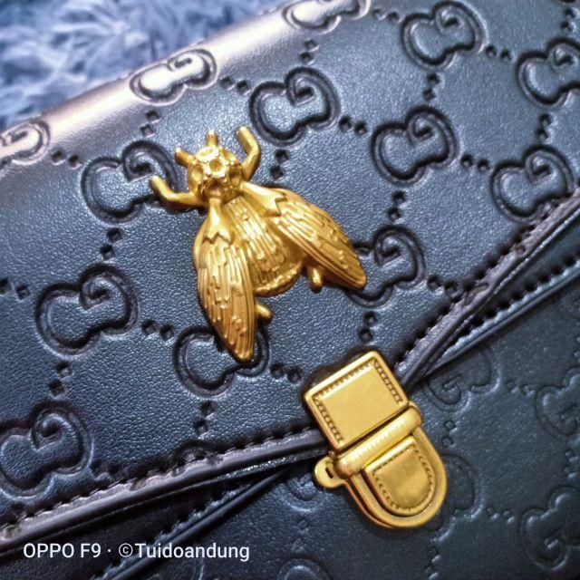 Túi ong dập vân sang trọng size 20