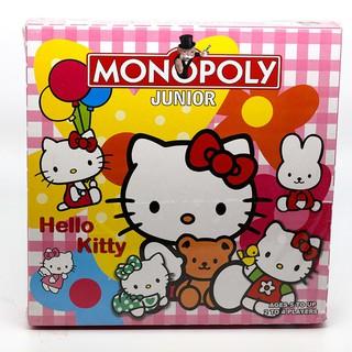 Bộ cờ tỷ phú Monopoly Junior Hello Kitty