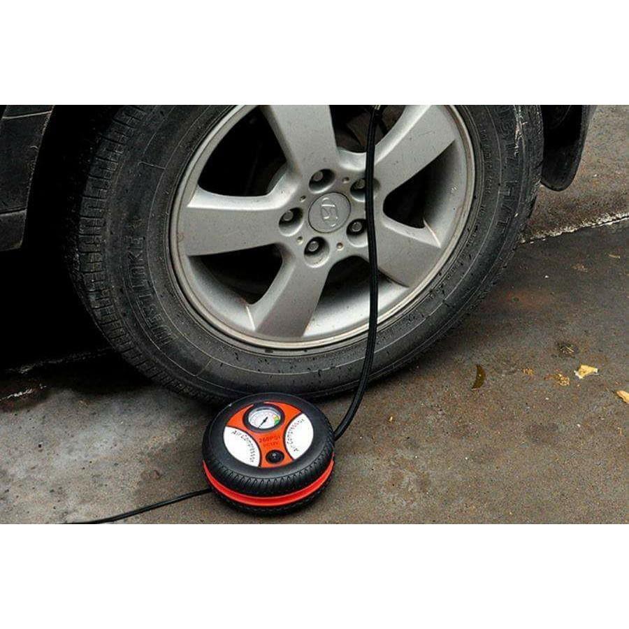 Bơm điện ô tô nhỏ gọn tiện mang trên xe