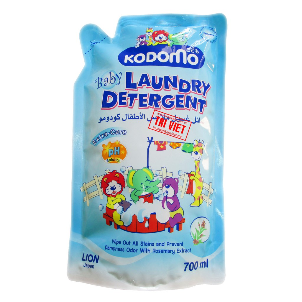 Dung dịch giặt tẩy Kodomo (3+) – 700ml