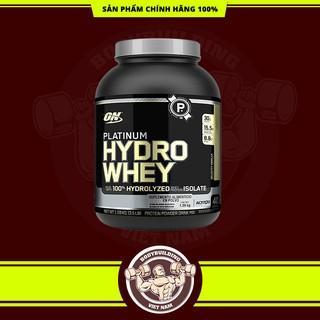 Sữa Dinh Dưỡng Tăng Cơ 100% Hydro Whey tinh khiết ON Platinum Hydro Whey 3.5 Lbs