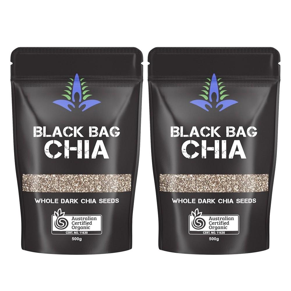 Combo 2 túi Hạt Chia Úc Black Bag Chia (1 túi 500g )