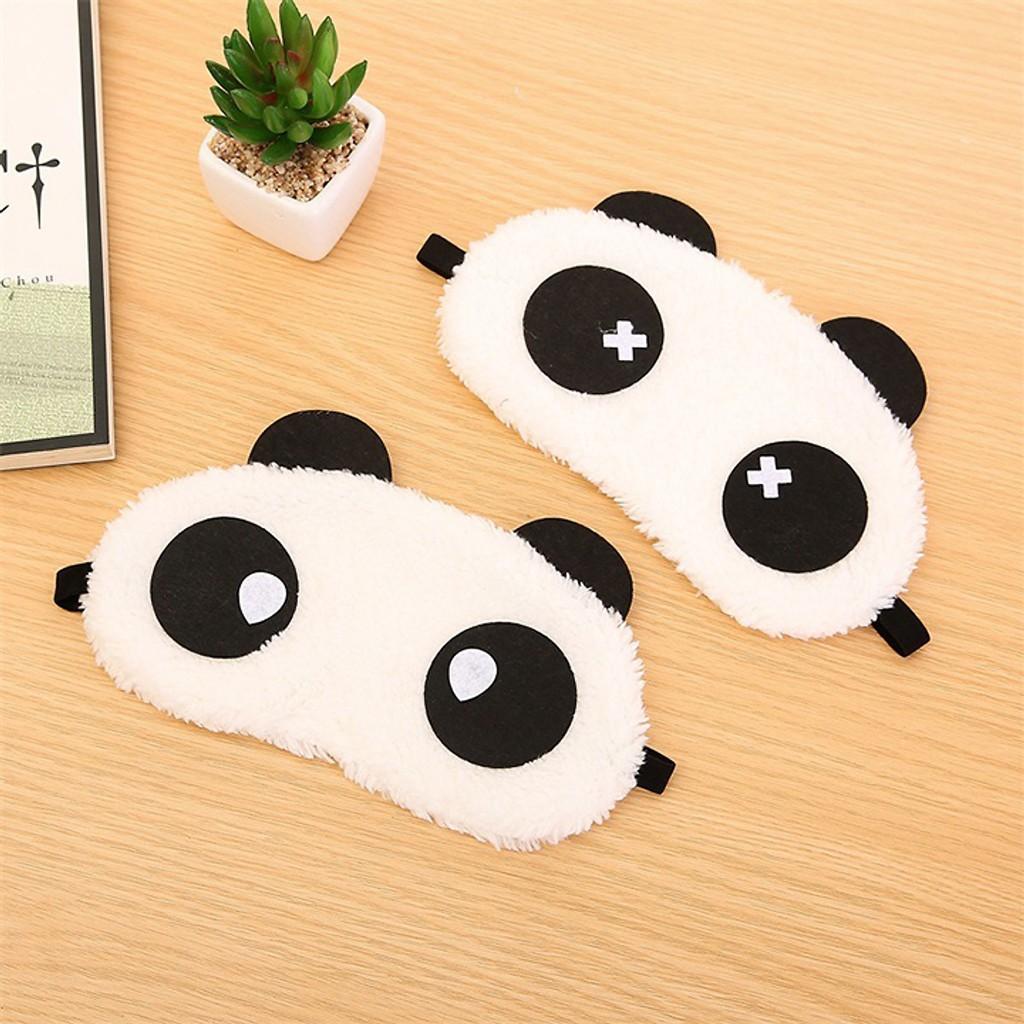 Tấm che mắt ngủ gấu panda -( che mặt khi ngủ)