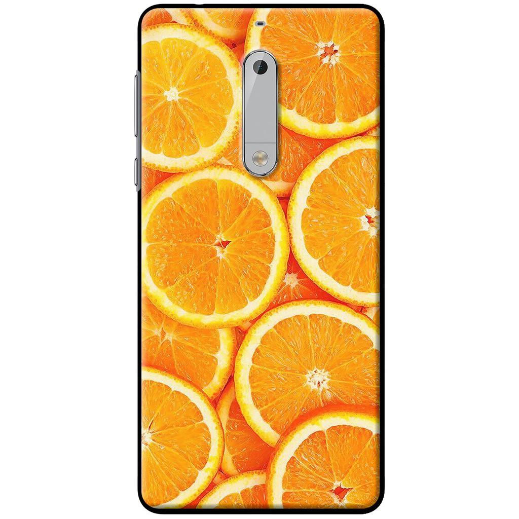 Ốp lưng dẻo Nokia 5 Cam tươi