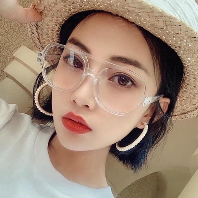 ❌KÍNH HOT❌ Mắt Kính Hàn Quốc Unisex Chống Tia UV Thời Trang Hot 2020