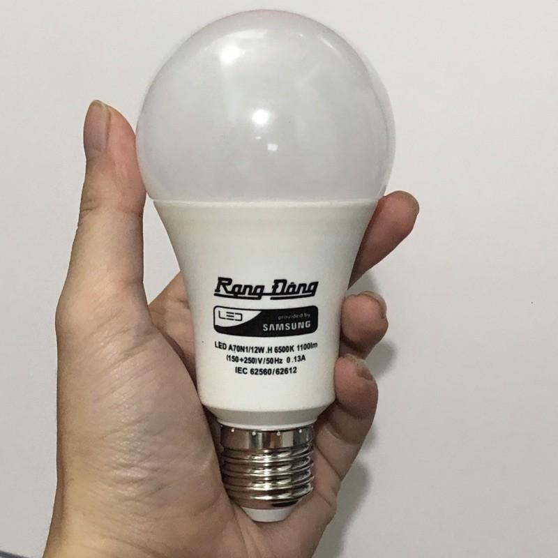 Bóng đèn LED Rạng Đông 3W - 5W - 7W - 12W, ChipLED SAMSUNG Bảo Hành 2 Năm