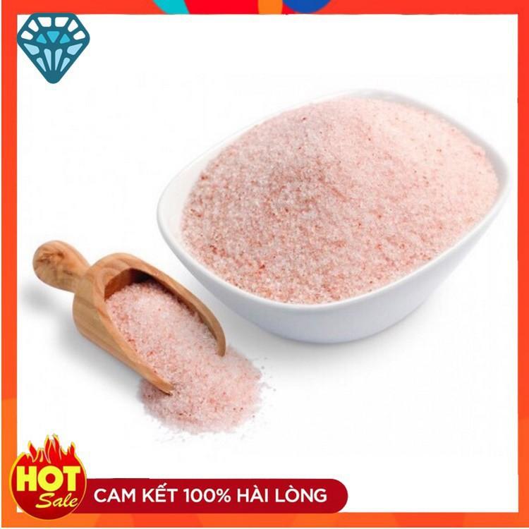 Muối hồng himalaya, muối ăn himalaya 500gr