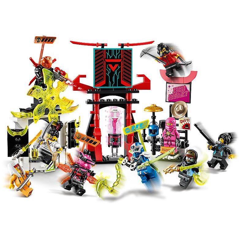 LEGO® NINJAGO® 71708 Sàn Đấu Game Thủ - 218 chi tiết