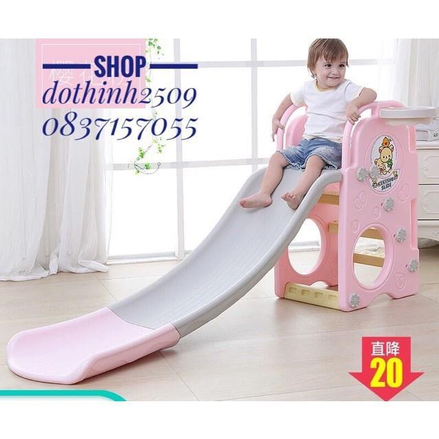 Đồ chơi cầu trượt cho bé Nhựa an toàn 16