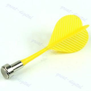 New Bullseye Target Game Plastic Magnetic Flat Tips Darts Double Sided Safe Dart