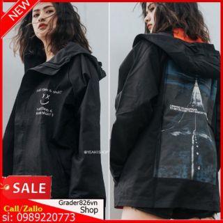 [Đủ 3 size M L XL] Áo Khoác Kaki DISAPPEAR( kèm ảnh thật )
