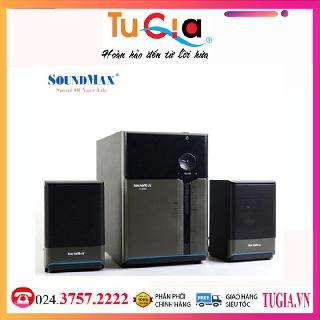 Loa 2.1 SoundMAX A990 (Đen)-Hàng Chính Hãng