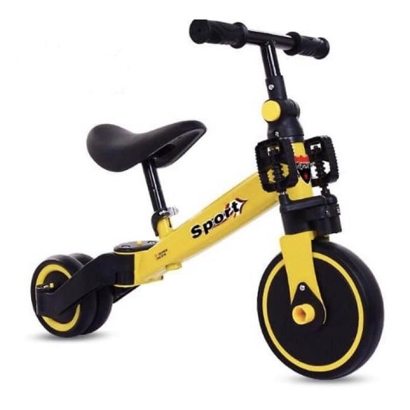 Xe chòi chân – 3 bánh thăng bằng – 3 in 1 -có bàn đạp – (Hàng cao cấp, xuất Châu Âu)
