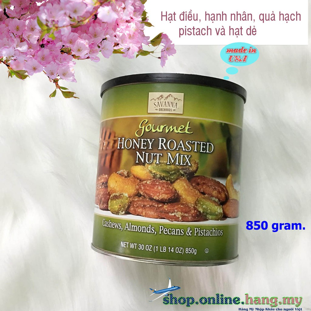 Hạt Hỗn hợp Honey Roasted Nut Mix