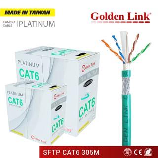 Cáp Mạng Golden Link SFTP CAT 6 (305M) Xanh lá GL01007 thumbnail