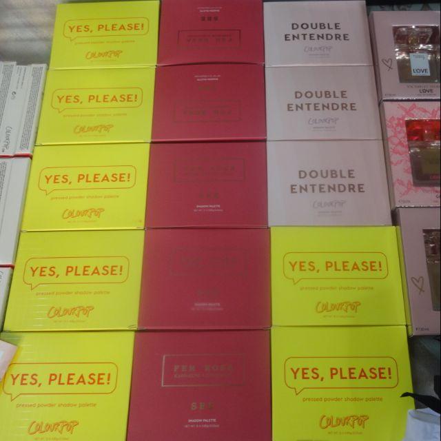 Trả order bảng phấn mắt colourpop yes p