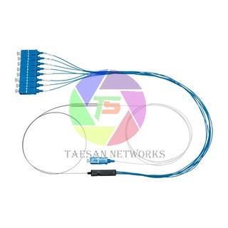 Bộ chia quang PLC mini 1 8 SC 0.9mm teflon (Optical Splitter PLC mini 1 8 SC 0.9mm) thumbnail