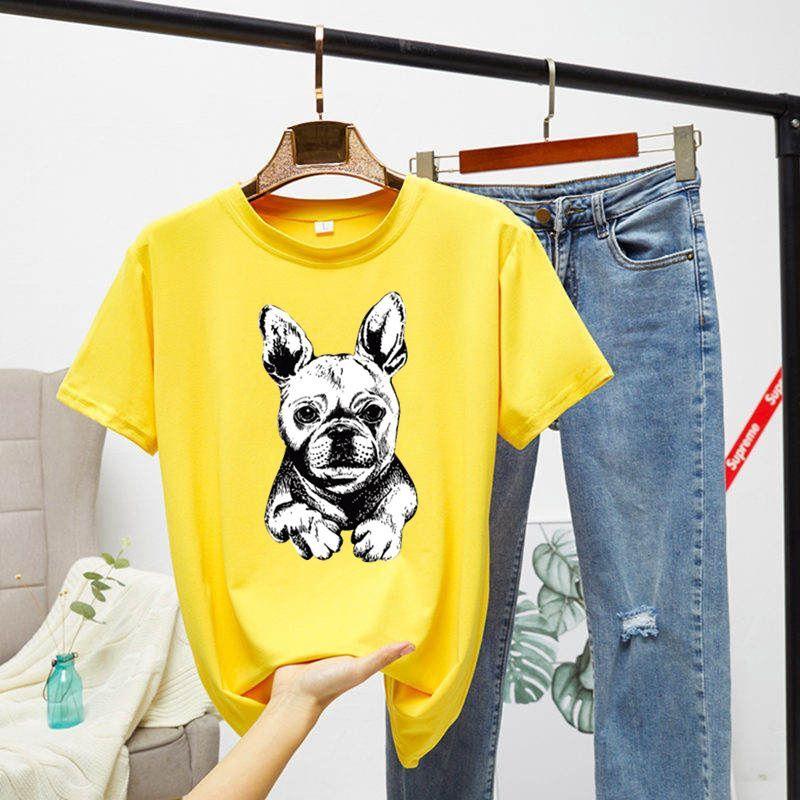 áo thun tay ngắn in hình chó phong cách nhật bản thời trang cho nữ - 14732321 , 2730381129 , 322_2730381129 , 136200 , ao-thun-tay-ngan-in-hinh-cho-phong-cach-nhat-ban-thoi-trang-cho-nu-322_2730381129 , shopee.vn , áo thun tay ngắn in hình chó phong cách nhật bản thời trang cho nữ