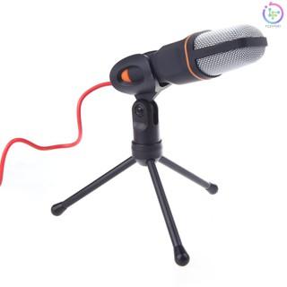 Micro hát karaoke có kẹp gắn chân đế cho Laptop