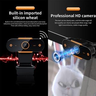 Hình ảnh KCO K9E Webcam Full HD 2K Auto focus with Microphone, For Network Broadcast Online School And Meetings Laptop Desktop YouTube Skype Facebook FaceTime-3