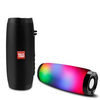 Loa Bluetooth di động, nhỏ gọn, LED đẹp, loa không dây mini, hỗ trợ thẻ nhớ, cổng USB và FM radio T&G TG-157