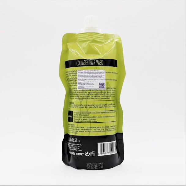 Dầu Hấp Ủ Tóc Collagen Delofil Arganoil Protein Siêu Mượt