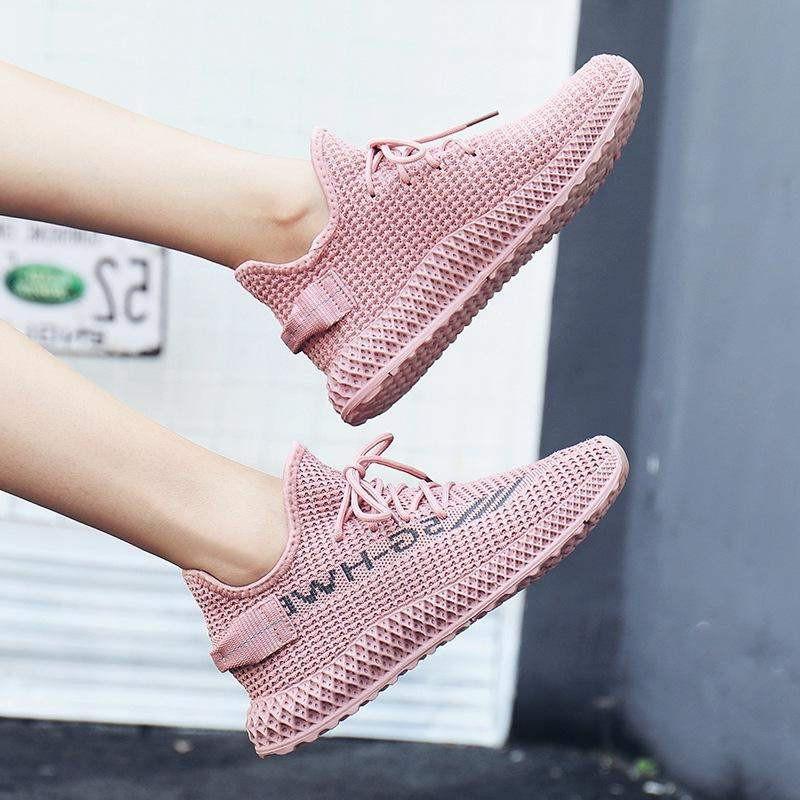 Giày sneaker nữ cổ chun cao cấp,Vải dệt thoáng khí,Đế cao su
