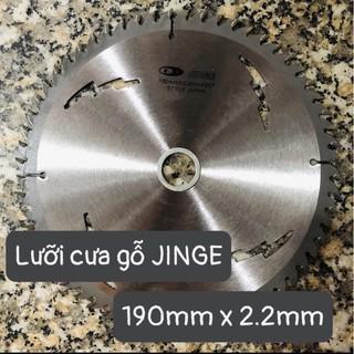 Lưỡi Cưa Gỗ Jinge 190mm