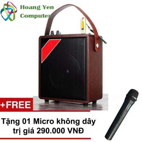 [Tặng Micro] Loa Karaoke Bluetooth Zansong A061 Mini - Bh 6 Tháng