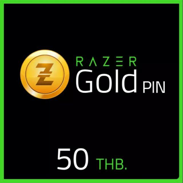รหัสเติมเงินRazer Gold PIN