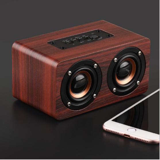 Loa Bluetooth không dây W5 Âm lượng cao Loa siêu trầm Mini Impact Player