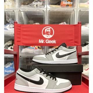 [GeekSneaker] Giày Jordan 1 Low - Light Smoke Grey ( Xám Khói )