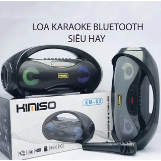 Loa Karaoke Bluetooth siêu hay hỗ trợ micro 6.5 kms2