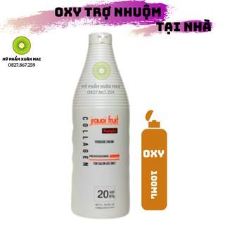Oxy trợ nhuộm tóc siêu dưỡng chống rát da đầu 100ml thumbnail