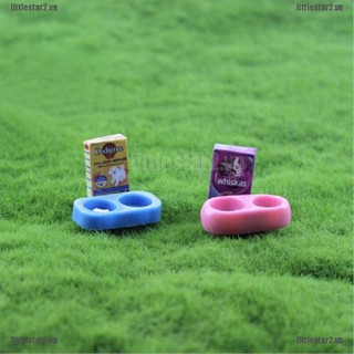 {MUV} 1/12 scale Doll House Miniature Kitchen Garden Pet Dog Food on Bowl{FC}