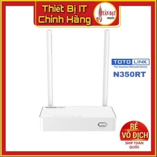 Bộ Phát Wifi Totolink N350RT chuẩn N 300Mbps - 4 Lan thumbnail