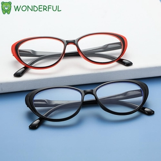 WONDERFUL Fashion Computer Gaming Glasses Vision Care Goggles Blue Light Blocking Glasses Vintage Frame Anti Eyestrain UV400 Protection Women and Men Eyewear