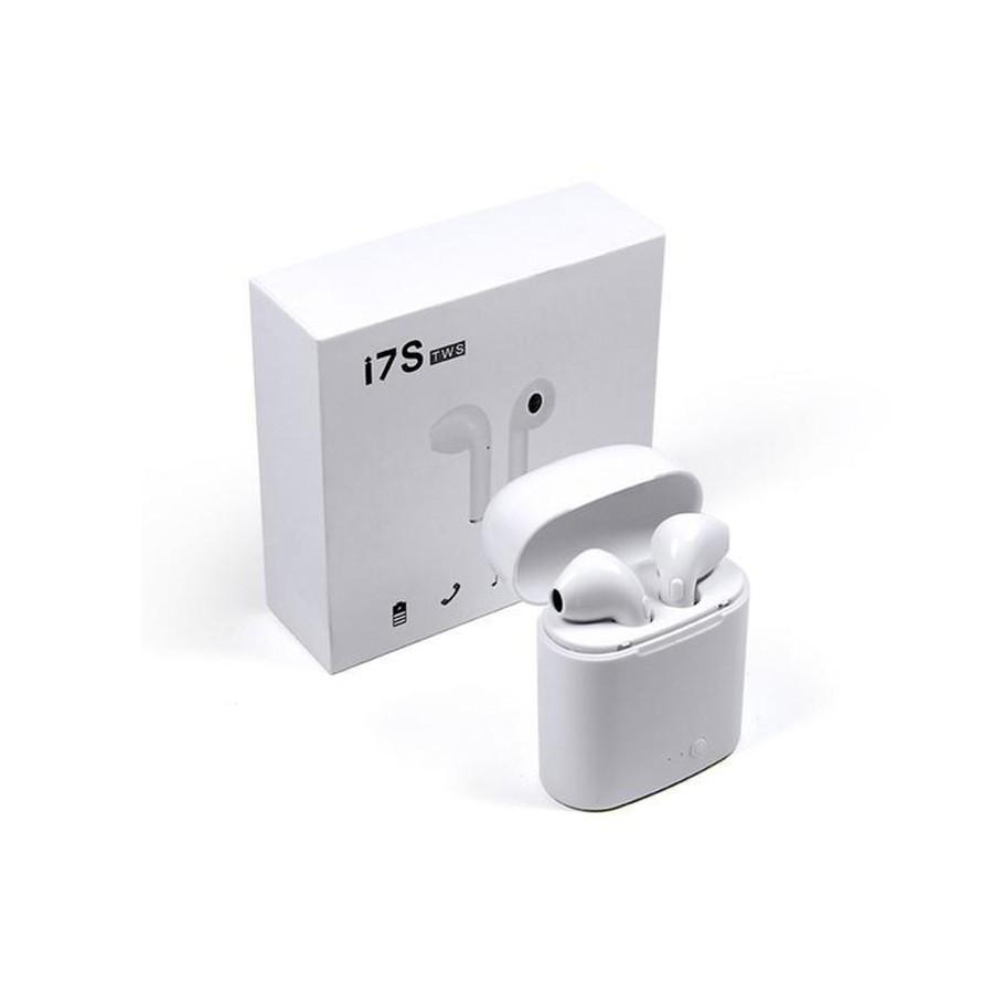 [ GIÁ HUỶ DIỆT] Tai nghe Bluetooth không dây i7s-Tws loại 2 tai nghe kèm hộp sạc âm thanh cực hay