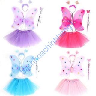 [HOT] Bộ váy cánh bướm thiên thần cho bé – bachhoachinhhang1