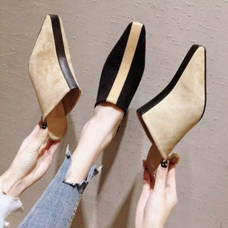 Giày sục Gót 3cm sang ODER 12-17 ngày